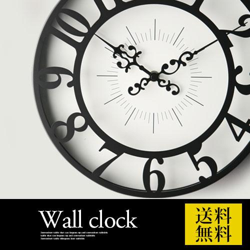 【クーポンで313円引き】 【ポイント10倍】 掛け時計 壁掛け クロック 壁掛け時計 ウォールクロック 子供部屋 かわいい アンティーク風 レトロ クラシック デザイン おしゃれ CL4960 GISEL ジゼル モダン 北欧 送料無料 母の日