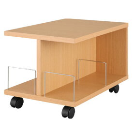ラック おしゃれ 収納 北欧 ベッドサイドテーブル リビング収納 収納ラック サイドテーブル キャスター付き サイドワゴン ブラウン ホワイト 白 オープンタイプ