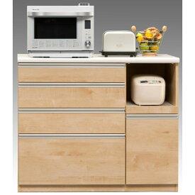 カウンターワゴン キッチンカウンター完成品 120cm幅 「エデン」開梱設置 送料無料