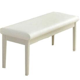 【ポイント増量&お得クーポン】 椅子 ダイニングベンチ 110cm幅 ホワイト ブラック ウィーブ 送料無料