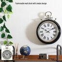 【送料無料】 アンティーク風 掛け時計 Φ31cm 時計 壁掛け 壁 壁掛け時計 オシャレ ブラック シャンパン 北欧 北欧風…