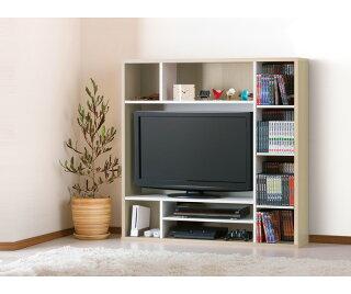 テレビ台ハイタイプ幅120大容量のハイタイプリビング収納