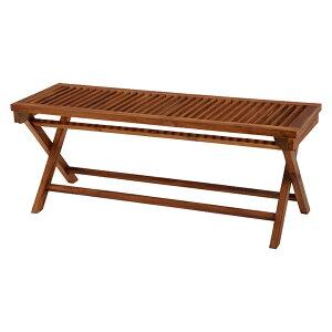 木製ベンチ 幅120 折畳み 折りたたみ フォールディングベンチ屋外 折畳 収納 チークガーデン ガーデニング エクステリア おしゃれ 送料無料 新築祝い RB-1598TK