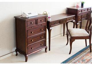 ヨーロピアン調英国スタイルのアンティーク調デザインがお部屋を華やかに引き立てる上品ファックス台