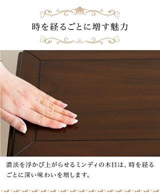 サイドテーブル木製エレガント優雅コーヒーテーブルダイニングテーブル猫脚テーブル茶ブラウン/木製