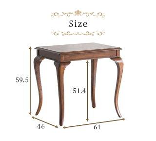 美しい木目、存在感のあるアンティーク風ダイニングテーブル猫脚ネコ脚テーブル茶ブラウン/木製