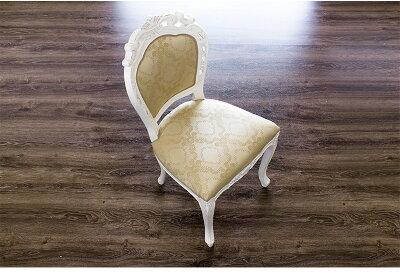 マホガニー優雅クラシック洋風エレガント椅子アンティーク調猫脚チェアー可愛いホワイト白家具ダイニングチェアー椅子/木製/通販/送料無料新生活