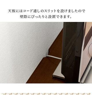 ゴージャスでエレガントなアンティーク調テレビボード天然木テレビ台ロココ調