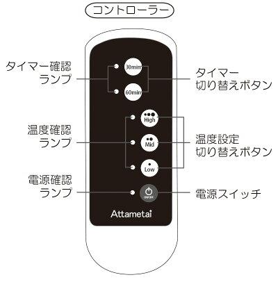 お腹をじんわり温める温熱治療器