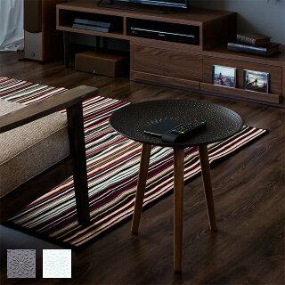 サイドテーブルスマホテーブルスマホ置き北欧おしゃれ木製ナイトテーブル丸ソファテーブル44cmサイドソファソファーテーブル円形丸型天然木製テーブルコンパクトナチュラル小さいリビングウッドスマホスタンド