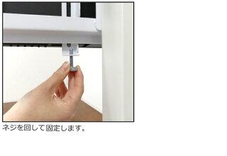 壁寄せテレビスタンドおしゃれな壁掛け風テレビスタンド55インチ60V対応