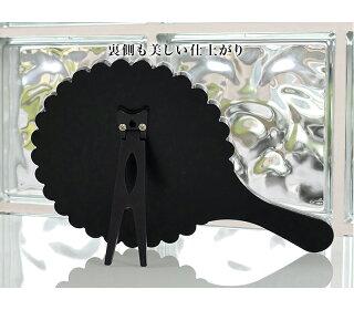 スタンドミラー2WAYハンドミラーMIRAYU鏡キラキラおしゃれ玄関円形卓上ミラー豪華高級クリスタル調装飾卓上鏡ロイヤルミラーメイクミラー化粧ロマンティック丸型クリスタル調組立不要