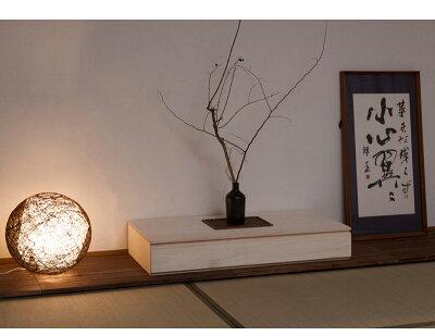 桐の置き床シンプル詳細サイズ