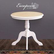 テーブルアンティーク風カフェテーブル木製ティーテーブル