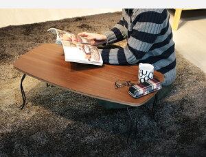 【全品5%OFFクーポン配布中!】ローテーブル折りたたみテーブルLee幅80猫脚一人暮らし座卓おしゃれ猫足かわいいミニテーブル軽量折り畳み収納ミニセンターテーブル一人用木製天板北欧アンティークホワイト白木目ブラウン送料無料VH-S4
