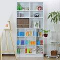 本棚|スライド|大容量|スライド書棚|シングル|スリム|コミック