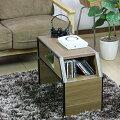 サイドテーブル|木製|収納|小さい|テーブル|奥行30cm
