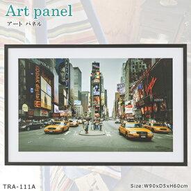 【アートパネル A】TRA-111A 繁華街 ストリート カラー写真 インテリア お洒落 壁掛け