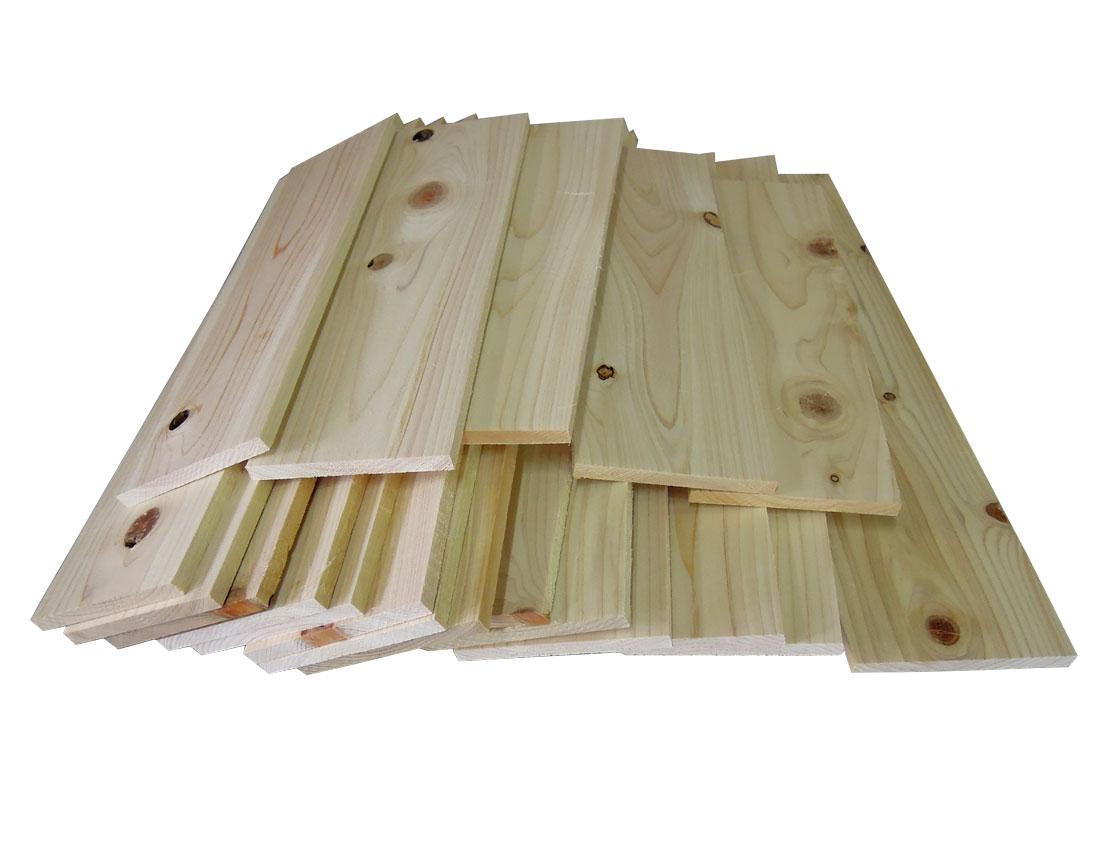【送料無料】 DIY木材素材 厚み調整済ひのき 3kg 自作 ハンドメイド 木工 端材 通販 renovation こだわりインテリア 棚作り 材料 ワイン箱作り