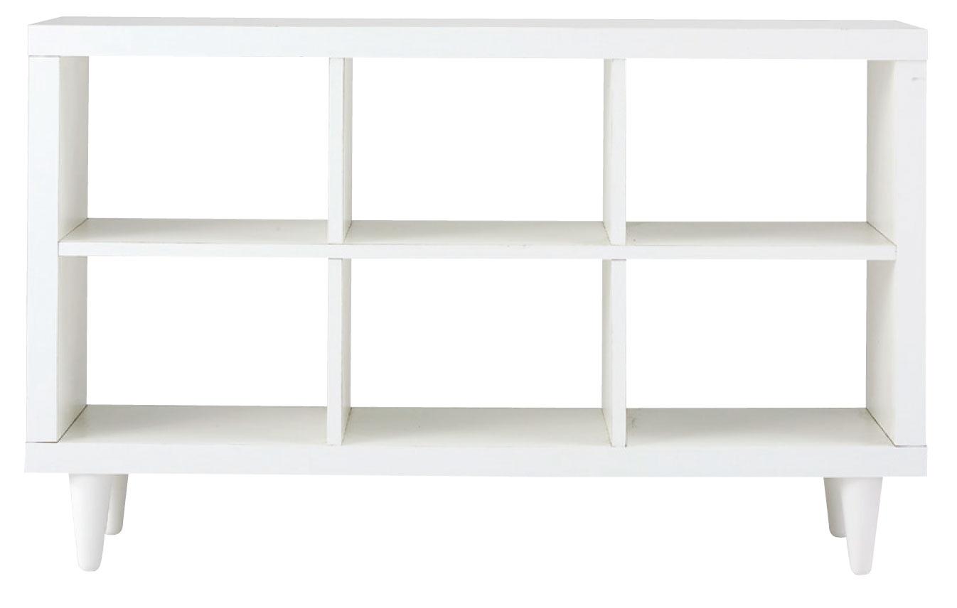 【送料無料】オープンシェルフ 本棚 飾り棚 空間をやわらかく仕切る 棚 ディスプレイ収納