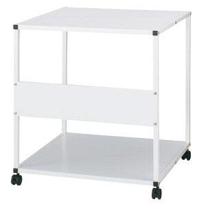 プリンタラックOAテーブルプリンター台移動式テーブル【サンワサプライ製】W650xD600xH700【GW-650PR】【新品】【オフィス家具】【キャスター付】