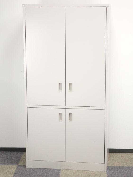キッチンキャビネット キッチンケース ビジネスキッチン スチール製食器棚 スチール食器収納 イトーキ製 W900xD450xH1800 HAK-0918HS-WE 中古 オフィス家具