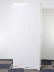 ワードローブ ロッカー 多人数用ロッカー 役員用ロッカー オフィス収納 収納家具 高さがございますので必ず設置場所と搬入経路をお確かめください。  ウチダ製:ハイパーストレージ HSシリーズ W900xD450xH2160 5-825-9202 中古 オフィス家具 鍵付