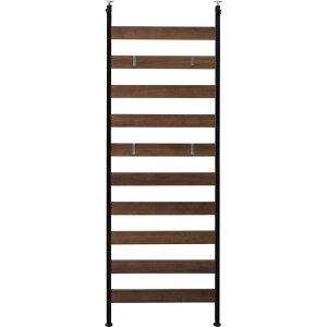 ウッドウォールラックWLR-66ブラック・ホワイト突っ張りラックフック収納壁面家具壁面収納収納家具キッチン収納キッチン家具リビング家具リビング収納食器棚コレクションラックアイリスオーヤマ