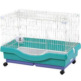 小動物快適ケージ RU-800 パステルグリーン ペット用品 ペットと暮らす 飼育 生活用品 アイリスオーヤマ 新生活