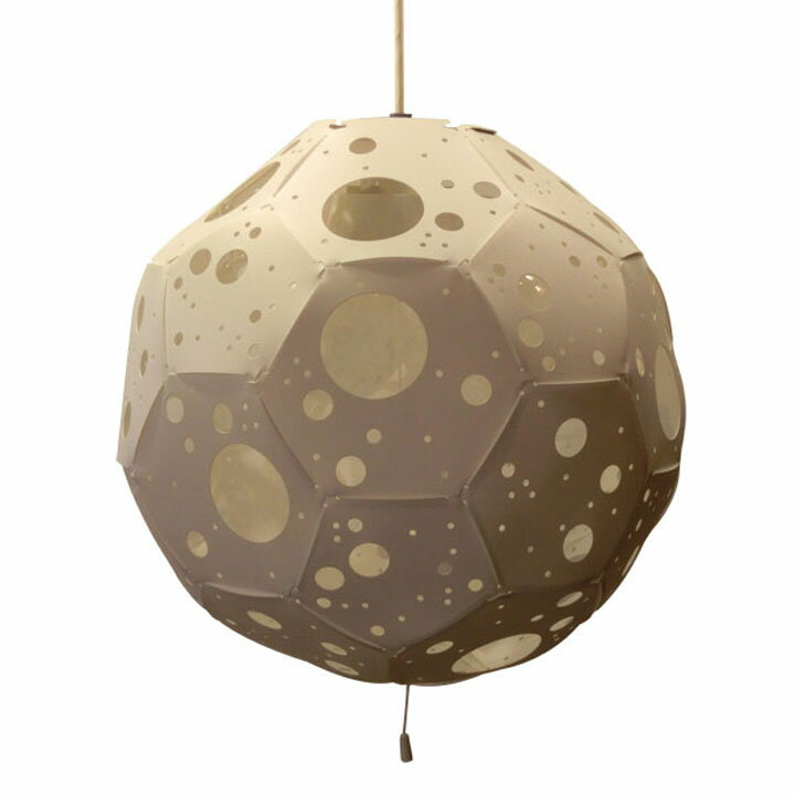 【送料無料】【デザイナーズ照明 おしゃれ】Moon Lamp ムーンランプ 3灯ペンダントライト【照明 インテリアライト 3灯 ペンダントライト】フレイムス GDP-070【TD】【代引不可】【取り寄せ品】 新生活