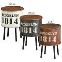 [20時〜P10倍 7/20 23:59迄]ブルックリン・ストレージサイドテーブル・L (組立式) LY-002-WH収納 テーブル 家具 お…