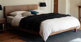 【お見積もり商品に付き、価格はお問い合わせ下さい】日本ベッドフレーム CQ VINCENT ビンセント FE(引出し無し)ウォルナット E031 ダークブラウン E032 グレー E033クイーンサイズ 寝具 ベッド フレーム