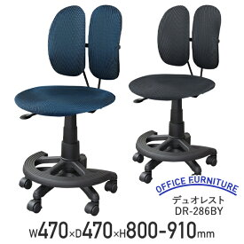 【テレワーク応援】デュオレスト DR-286BY オフィスチェア パソコンチェア デスクチェア ワークチェア 事務椅子 人間工学チェア エルゴノミクスチェア 在宅勤務 在宅ワーク 在宅椅子 ブルー/グレー DW-DR286BY 個人向け代引不可【個人宅配送費込B】