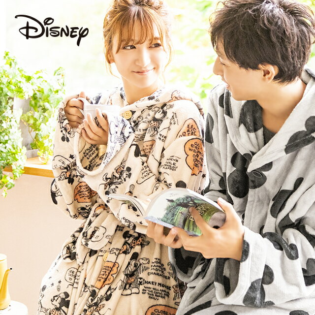 着る毛布 MOCOA ディズニー公式 ディズニーグッズ ディズニーキャラクター フリーサイズ フード付き パジャマ 秋冬 ルームウェア レディース メンズ もこもこ 可愛い かわいい おしゃれ