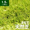 人工芝 ロール 1m×5m 芝丈35mm 人工芝 芝生マット 人工芝生 人工芝マット 人工芝ロール 芝生 ロールタイプ 固定ピン …