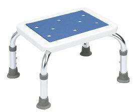 シャワーステップ 風呂用台 浴槽用ステップ 入浴介助 風呂用椅子 風呂用ステップ 高さ3段階調節可能 吸盤使用 アルミ製