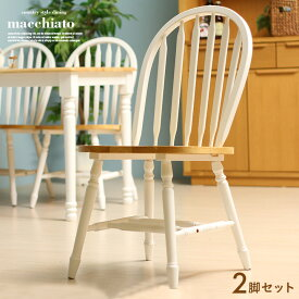 【割引クーポン配布中】ダイニングチェア macchiato chair(マキアート チェア) 2脚セット 2色対応