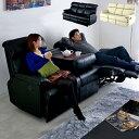 【割引クーポン配布中】3人掛け モーションソファ ブルーム PVC 2色対応 リクライニングソファ ソファ sofa 3人掛けソ…