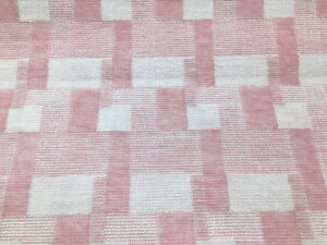 抗菌・4.5畳・4.5帖・261×261cm・カーペット・絨毯(じゅうたん)【品名:バール】カット&ループ・レトロ・幾何学模様・ブロック柄