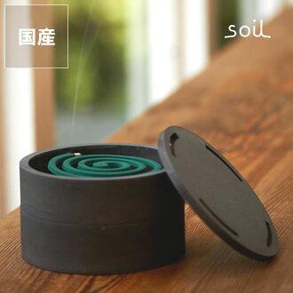 soil (soil) mosquito-repellent incense case