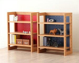 女性視点でデザインされた木のロー書棚・本棚ラックMUCMOC(ムックモック)