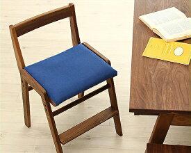 【杉工場】【スピカ】すっきりシンプルデザインの学習椅子 学習チェア(布座)ブラウン(ウォールナット) リビング学習 ダイニング学習 おすすめ