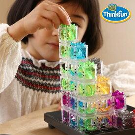 ThinkFun(シンクファン) Gravity Maze グラビティ・メイズ (オリジナル問題カード付)迷路 パズル パズルゲーム 知育玩具 脳トレ ボードゲーム ゲーム テーブルゲーム プログラミング プログラミング玩具 STEM教育 科学 技術 工学 数学
