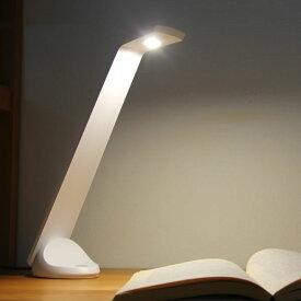 人にやさしいLEDデスクライト(ホワイト) 学習ライト 勉強ライト 電気スタンド スタンドライト 勉強机 学習机 おしゃれ 子供 子ども こども スタンド式 LEDライト 国産 日本製 コンパクト 男の子 女の子 照明 シンプル ホワイト