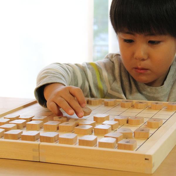 WOODY PUDDY(ウッディプッディ)はじめてのしょうぎセット あそび方ブック付き しょうぎ 将棋 将棋盤 知育玩具 セット 子供 キッズ ゲーム あそび