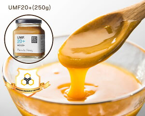 HONEY MARKS(ハニーマークス)マヌカハニー UMF20プラス(250g)ギフトバック付き母の日 UMF20 はちみつ ハチミツ 蜂蜜 マヌカ MGO UMF エネルギー リラックス なめらか ホットケーキ デザート ス