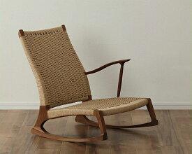 自分好みのくつろぎ方を楽しめるロッキングチェア YURAGI 塚本木工※代引き不可 ※キャンセル不可ロッキングチェアー 座椅子 ロッキング座椅子 いす イス シンプル ウッドデッキ 肘掛 片肘 日本製 国産 北欧 ウォールナット ウォルナット
