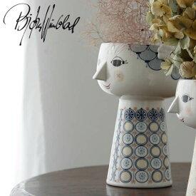 BJORN WIINBLAD(ビヨン・ヴィンブラッド)エヴァ フラワーベース ブルーエヴァベース デンマーク 北欧 北欧雑貨 フラワーベース フラワースタンド 花瓶 花器 おしゃれ 陶器 雑貨 インテリア 復刻 ギフト 贈り物 父の日