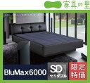 特価フレームウォーターベッドハードサイド セミダブルサイズ(1バッグ)BluMax6000 ※代引き不可【ウォーターワール…