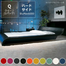 モーニングフラワー7(スエード調)〔ウォーターベッドハードサイド〕クイーンサイズ(1バッグ)BluMax6000【ウォーターワールド/WATER WORLD】※代引き不可 ドリームベッド dream bed